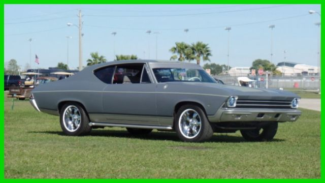 1968 Chevrolet Chevelle CUSTOM BUILT-FRAME OFF PRO TOUR-1 OF A KIND-SEE VI