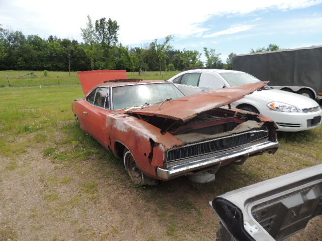 1968 Dodge Charger 318 Auto Parts Car For Hemi Or 440 R T