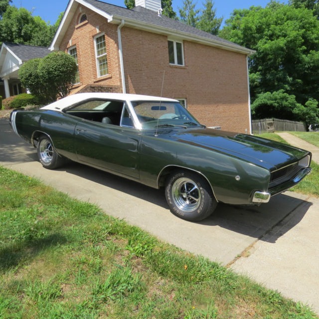 Dodge Charger For Sale: 1968 Dodge Charger 383 Bucket Seat Automatic With Air For