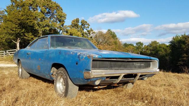 1968 Dodge Charger Project Car Mopar Muscle For Sale Photos