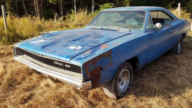 1968 Dodge Charger Project Car MOPAR Muscle! For Sale