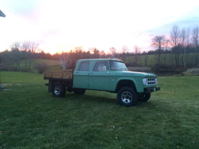Dodge Crew Cab CUMMINS 12v 4x4 POWER WAGON W200 NO RESERVE! for sale ...