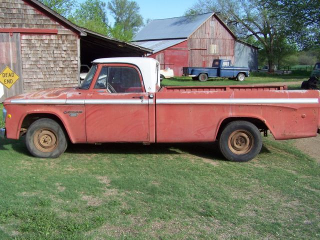 1968 Dodge Other Pickups D100