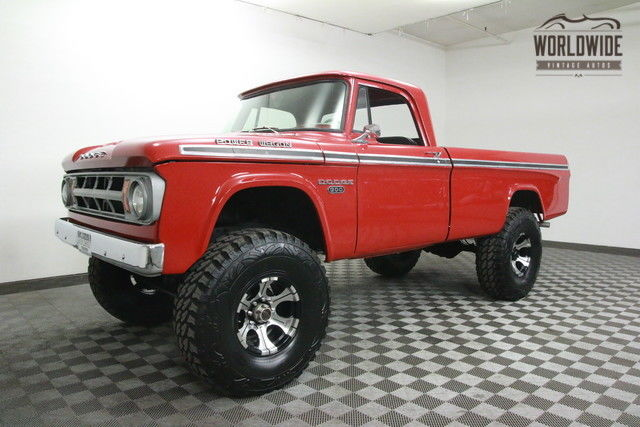 1968 Dodge Power Wagon W200. RESTORED! SHOW OR GO! 4X4!
