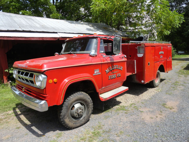 1968 Dodge Power Wagon custom cab