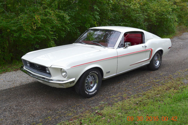1968 Ford Mustang MUSTANG FASTBACK GT