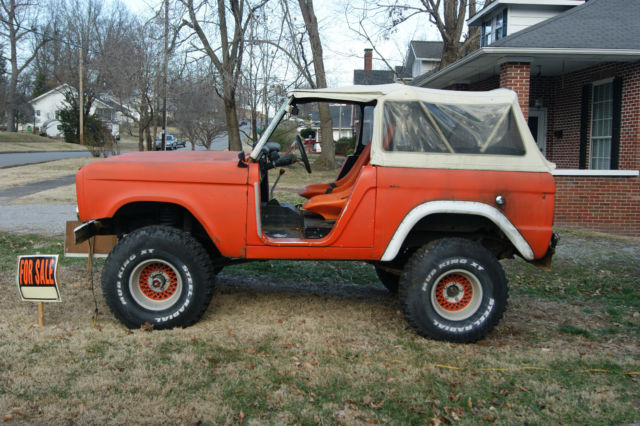 1968 ford bronco for sale with lots of extra parts for. Black Bedroom Furniture Sets. Home Design Ideas