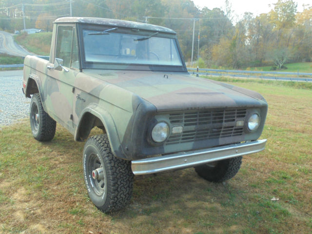 1968 ford bronco half cab for sale photos technical specifications description. Black Bedroom Furniture Sets. Home Design Ideas
