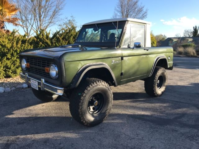 1968 Ford Bronco Black