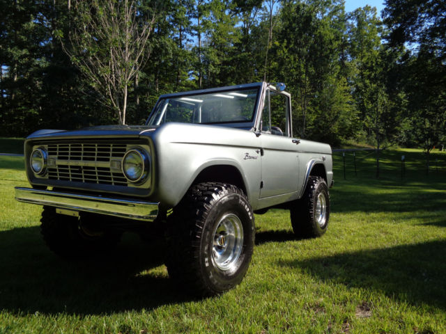 1968 ford bronco half cab lifted nice for sale photos. Black Bedroom Furniture Sets. Home Design Ideas
