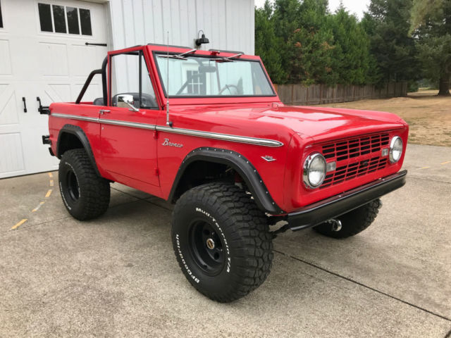 1968 Ford Bronco V8, Automatic, 4 Wheel Disc Brakes, Power Steering