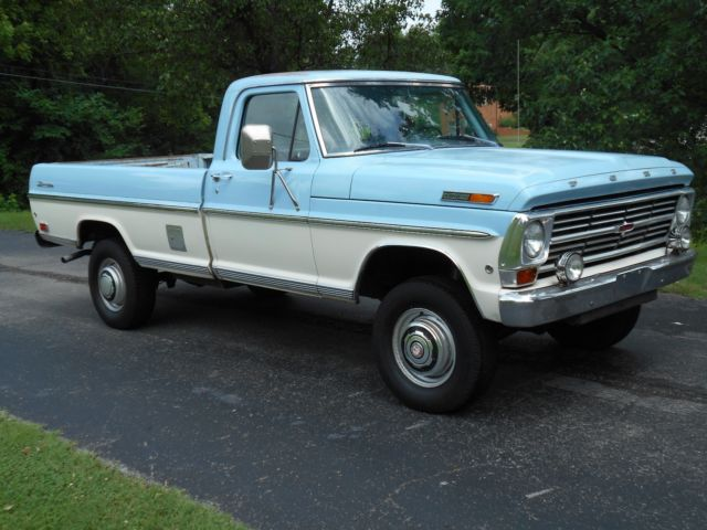 1968 ford f 250 highboy 4x4 ranger truck all orginal for sale photos technical specifications. Black Bedroom Furniture Sets. Home Design Ideas