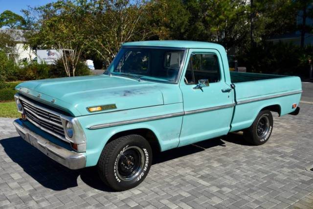 1968 Ford F100 408 Stroker for sale: photos, technical