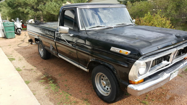 1968 ford f100 longbed with 360 engine and auto trans for sale photos technical specifications. Black Bedroom Furniture Sets. Home Design Ideas