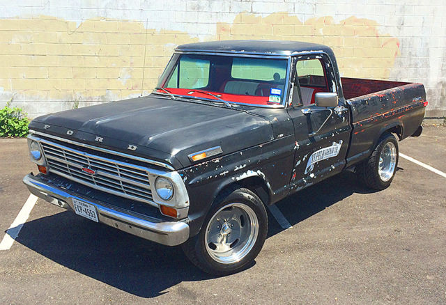 1968 Ford Truck Vin Decoder 1 - Ford F Short Bed With Police Interceptor Motor - 1968 Ford Truck Vin Decoder 1