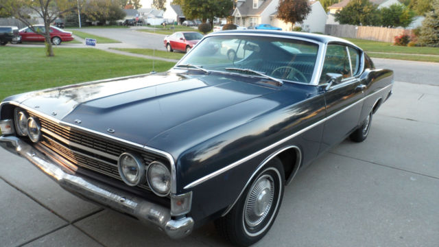 1968 Ford Fairlane 500 Fastback 5.0L for sale: photos ...