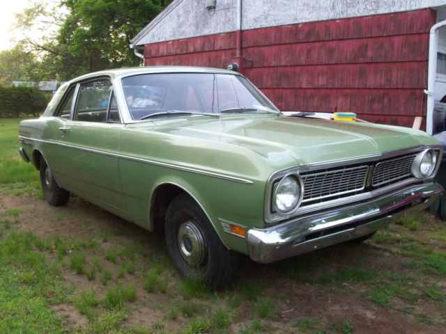 1968 Ford Falcon 2 Door Hard Top 6 Cyl At 43k For Sale