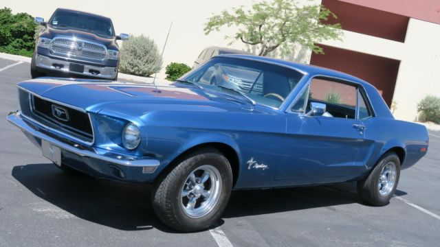 1968 Ford Mustang 289 C CODE P/S! NEW PAINT AND LUXURY INTERIOR!