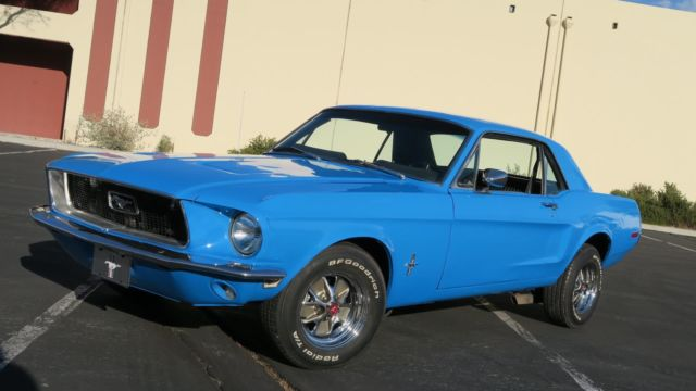 1968 Ford Mustang 289 V8 C CODE! SAN JOSE FACTORY BUILT! DISC BRAKES