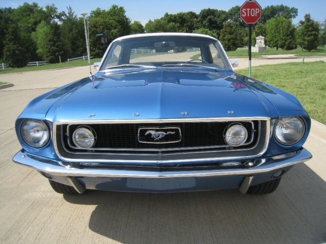 1968 Ford Mustang 390 4-speed