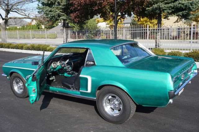 1968 Ford Mustang Green