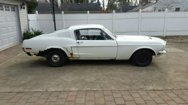 1968 Ford Mustang 390 Gt 2 2 Fastback >> 1968 Ford Mustang Fastback 2 2 390 4v For Sale Photos
