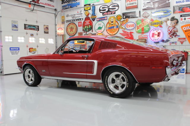 1968 ford mustang fastback 2 2 air cond front disc brakes for Ford motor company phone directory