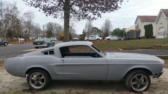 1968 Ford Mustang Base Fastback 2-Door