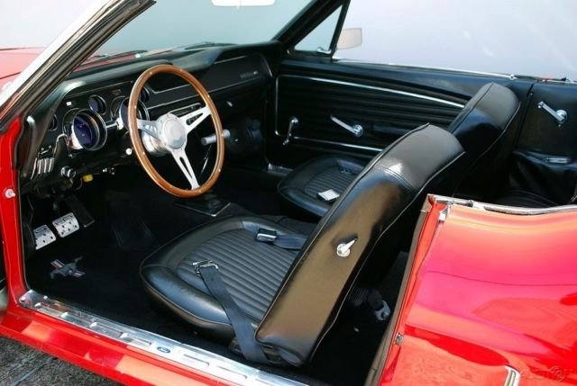 Ford Mustang Restomod Convertible on 1968 Mustang Dash Vin Number Location