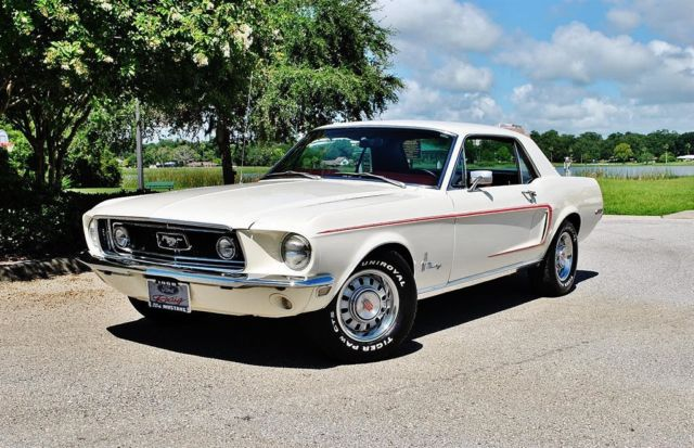 1968 Ford Mustang Sprint B Promotion Car Wow! 289 V8