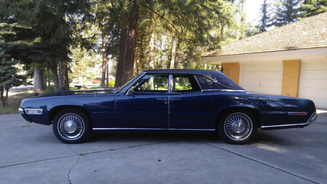 1968 Ford Thunderbird W Suicide Doors Powerful Luxurious And A