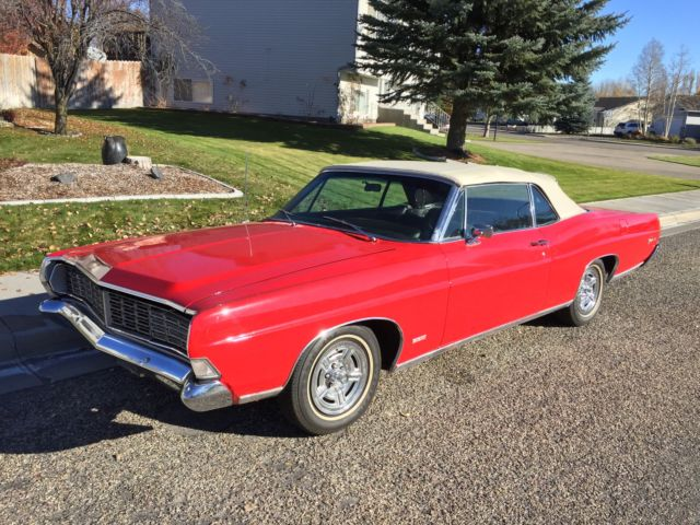 1968 Ford Galaxie convertible