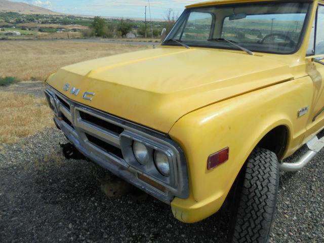 1968 gmc pickup k20 4x4 chevy brake k10 disc block automatic cab 2500
