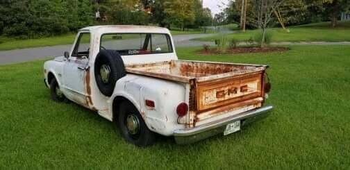 1968 White GMC C10 SWB with Black interior