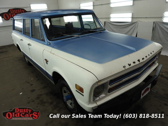 1968 Chevrolet Suburban Great Work Camp Truck Runs Drives 350V8 4spd