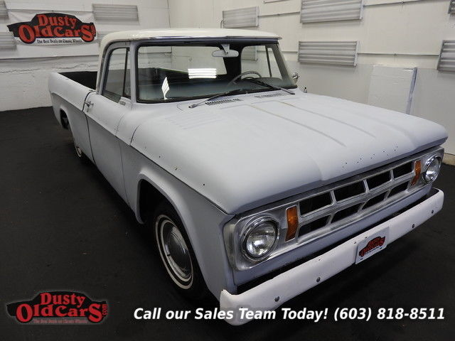 1968 Dodge Other Pickups Runs Drives Body Inter Good 318V8 3 spd auto
