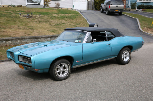 1968 Pontiac GTO Restored Convertible