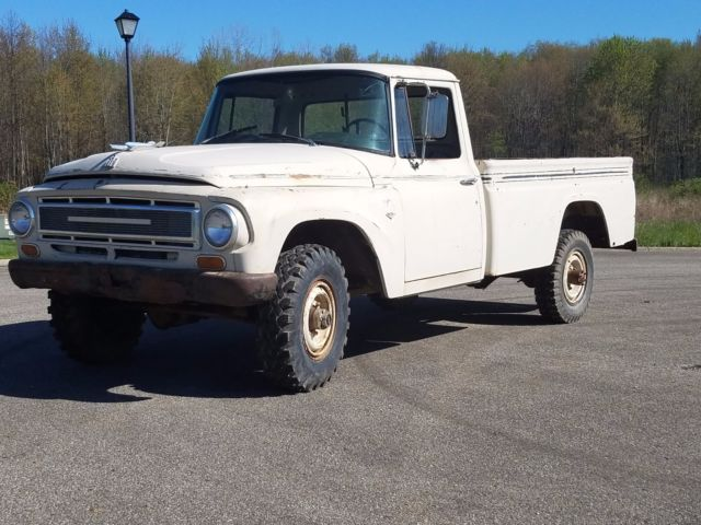 1968 international 1200c 3 4 ton 4x4 pickup truck ih 1100 scout patina ratrod for sale photos. Black Bedroom Furniture Sets. Home Design Ideas