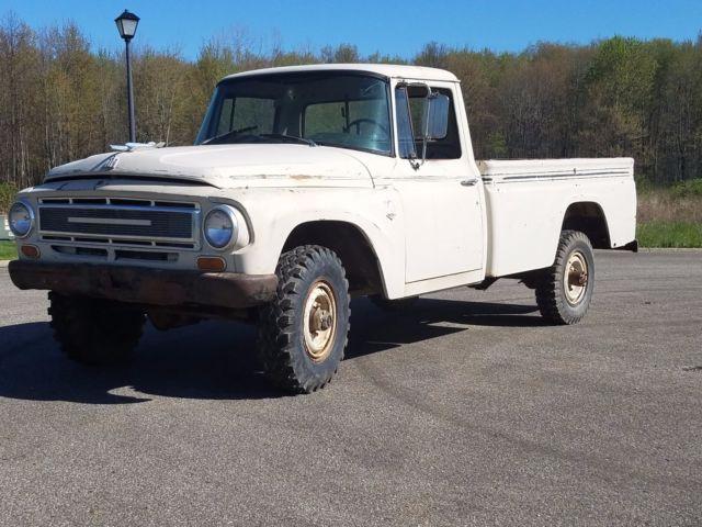 1968 international 1200c 3 4 ton 4x4 pickup truck ih 1100 scout patina ratrod for sale photos. Black Bedroom Furniture Sets. Home Design Ideas