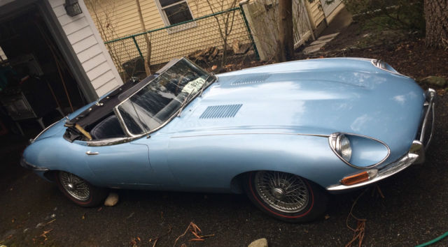 1968 Jaguar XKE Convertible Barn Find Low Mileage (57,918 mi)