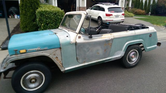 1968 Jeep Jeepster Convertible
