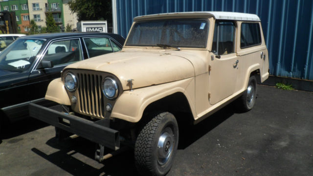 1968 jeepster runs needs wiring work for sale photos technical rh topclassiccarsforsale com Jeep Hurricane Willys Jeep Wagon