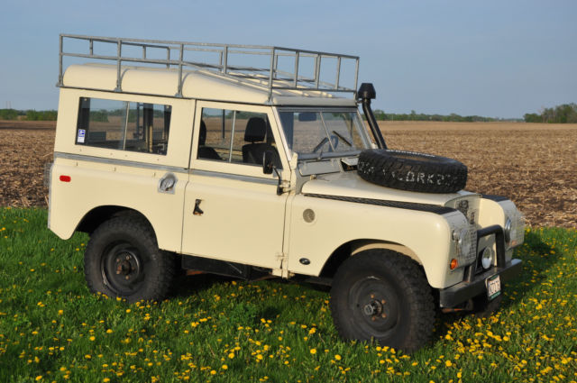 1968 Land Rover Other 2A 109
