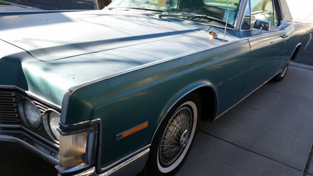 1968 Lincoln Continental 2 Door Coupe