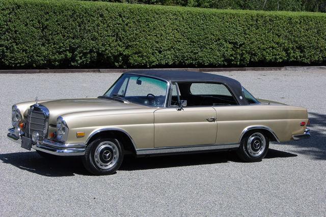 1968 mercedes 280se coupe auto ac floor shift 2 for Mercedes benz burlingame