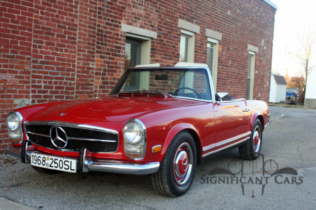 1968 mercedes benz 250 sl best pagoda for the price for sale photos technical. Black Bedroom Furniture Sets. Home Design Ideas