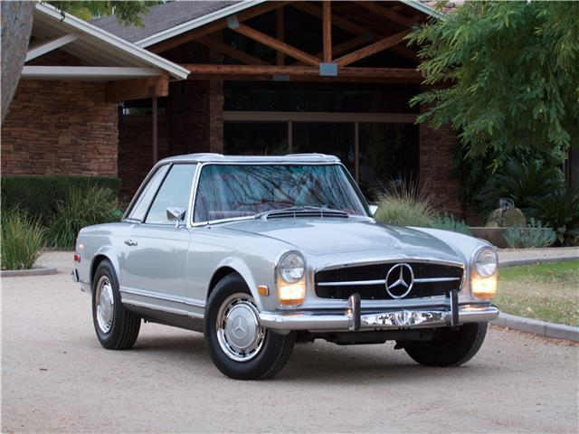 1968 Mercedes-Benz 250SL Red Leather- 4 Speed