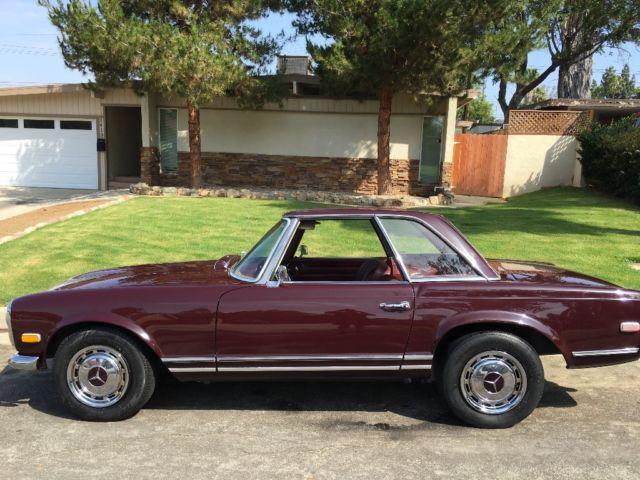 1968 mercedes benz 280sl rare california special no for Mercedes benz of southern california