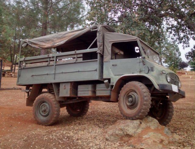 1968 Mercedes Unimog 404 Rock Crawler for sale photos