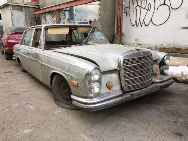 1968 Mercedes W109 300 Sel 6 3 Liter For Sale Photos